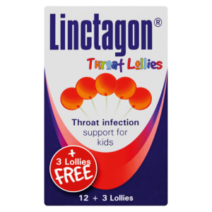 Linctagon Throat Infection Lollies For Kids 15 Pack
