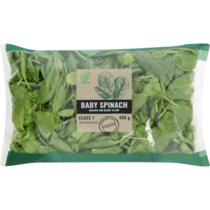 Baby Spinach 400g