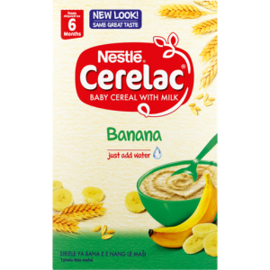 Nestle Cerelac Banana Baby Cereal With Milk 500g