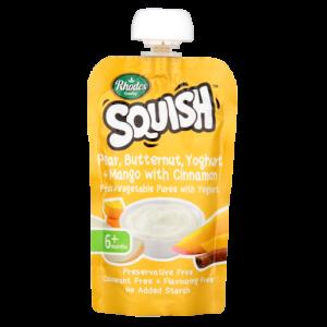 Rhodes Squish Pear, Butternut, Yoghurt & Mango Puree With Cinnamon 110ml