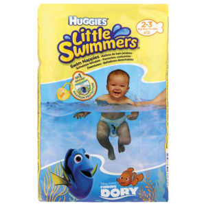 Huggies Little Swimmers 2-3 Years Diapers 12 Pack