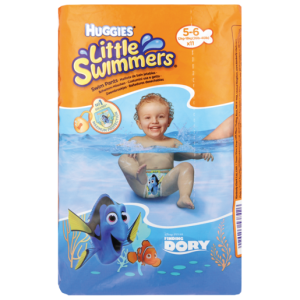 Huggies Little Swimmers 5-6 Years Diapers 11 Pack