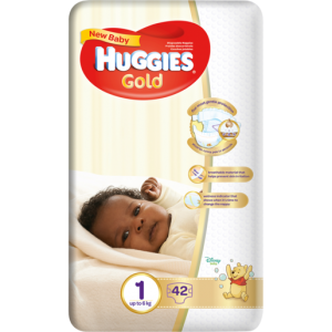 Huggies Size 1 New Baby Diapers 42 Pack