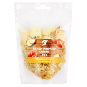 Baked Sundried Onions Pack 80g