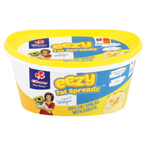 Clover Eezy 60% Fat Spread With Cheese 450g