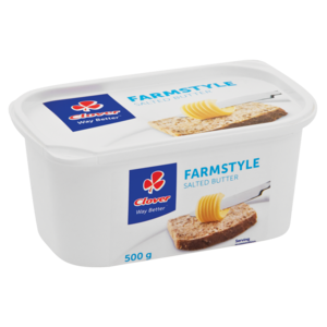Clover Farmstyle Salted Butter 500g