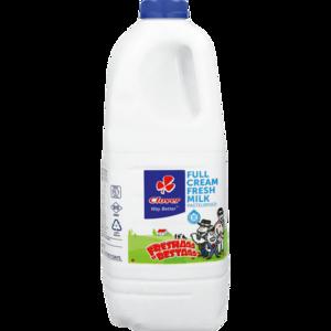 Clover Full Cream Fresh Milk Bottle 2L