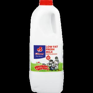 Clover Low Fat Fresh Milk Bottle 2L