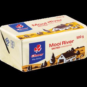 Clover Mooi Rivier Salted Butter Brick 500g