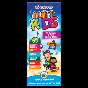 Clover Nutri Kids Apple & Pear Fruit Nectar Box 200ml