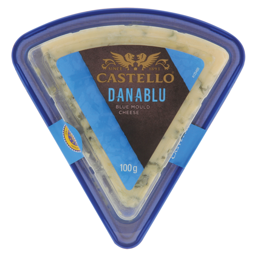 Castello Danablu Semi-Hard Danish Blue Mould Cheese Pack 100g