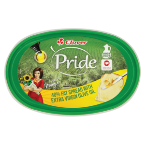 Clover Pride 40% Fat Spread With Extra Virgin Olive Oil 500g