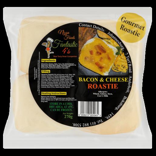 Nizza Foods Bacon & Cheese Roastie 4 Pack