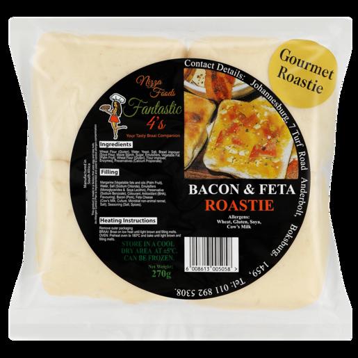 Nizza Foods Bacon & Feta Roastie 4 Pack