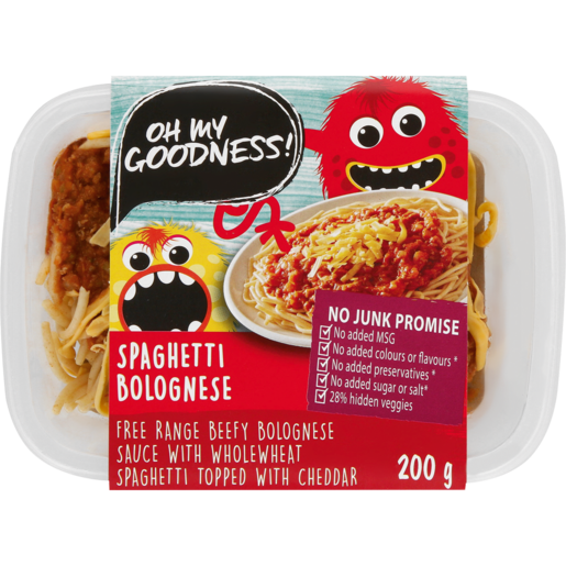 Oh My Goodness! Spaghetti Bolognese Ready Meal 200g