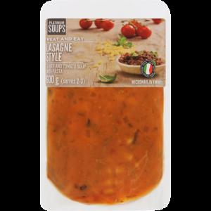 Platinum Soups Fresh Lasagne Style Soup 600g