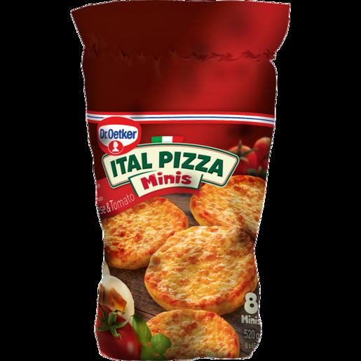 Dr. Oetker Ital Pizza Minis Frozen Cheese & Tomato Pizzas 520g