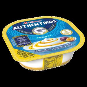 Clover Authentikos Granadilla Flavoured Greek Style Yoghurt Tub 100g