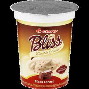 Clover Bliss Double Cream Black Forest Yoghurt Based Dairy Snack 175g