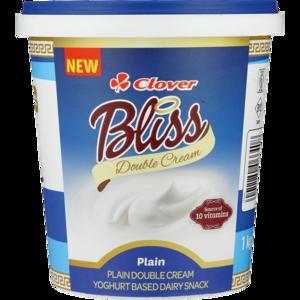Clover Bliss Double Cream Greek Yoghurt Based Dairy Snack 1kg