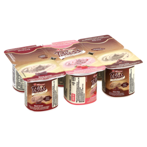 Clover Bliss Double Cream Yoghurt Based Dairy Snack Multipack 6 x 100g