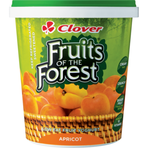 Clover Fruits Of The Forest Apricot Yoghurt Based Dairy Snack 1kg