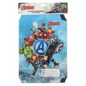 Avengers Assorted A4 Book Jackets 5 Pack