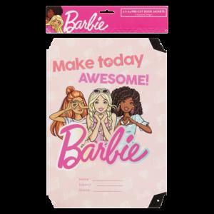 Barbie Assorted A4 Book Jackets 5 Piece