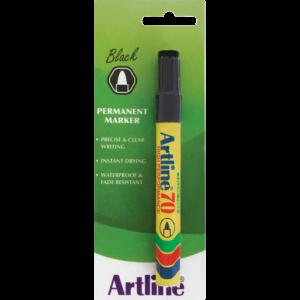 Artline EK70 Black Bullet Point Marker