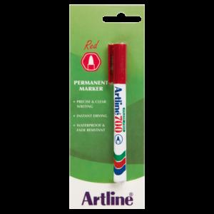 Artline EK 700 Red Permanent Marker