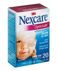 3m Opticlude Eye Patch Junior 20's