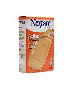 Nexcare Act Plaster 10`s Knee&elbow
