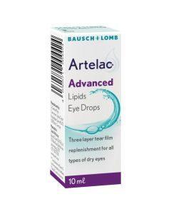 Artelac Advanced Lipids Eye Drops 10ml