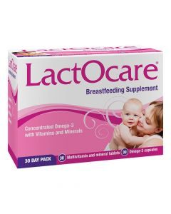 Inova Lactocare Post Natal Supplement 30 Day Pack