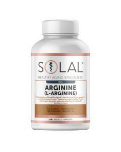 Solal Arginine L-argin 120 Caps