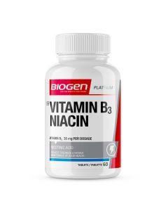 Biogen Niacin Vitamin B3 60's