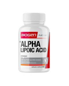 Biogen Alpha Lipoic Acid 60 Capsules