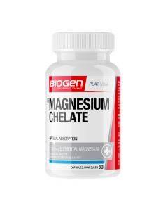 Biogen Magnesium Chelate 30 Capsules