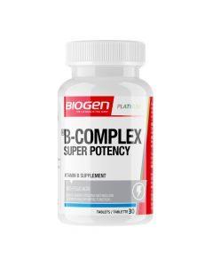 Biogen B Complex Super Potency 30 Capsules