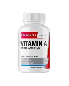 Biogen Vitamin A 60 Capsules