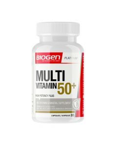 Biogen Multivitamin 60+ Capsules 30's
