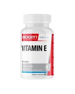 Biogen Vitamin E 30 Capsules