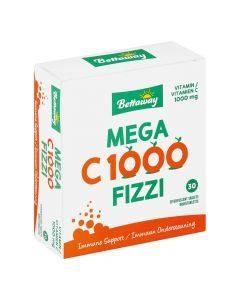 Bettaway Mega C 1000 Fizzi Vap 30's