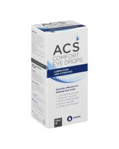 Acs Comfort Drops 10ml Lubricates And Hydrates