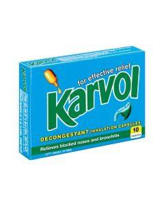 Karvol Inhalant 10 Capsules