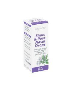 Vitaforce Post Nasal Drops 20ml