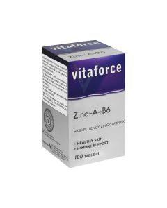 Vitaforce Zinc+a+b6 100 Tabs