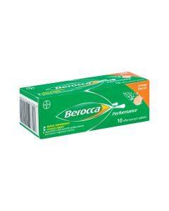Berocca Effervescent Orange 10 Tablets