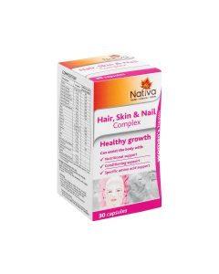 Nativa Hair,skin & Nail Complex 30 Caps