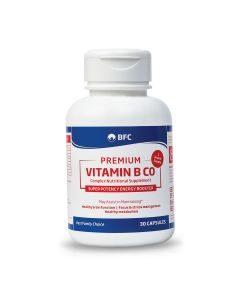 Premium Vitamin B Complex 30 Caps